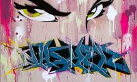 NASHER - 80 x 80 cm.