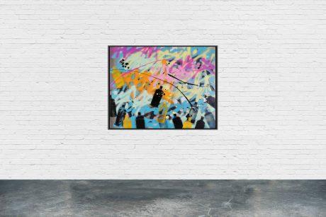 """SCA0220"" - 73 x 60 cm - Serie ""SPRAYCAN ART"""