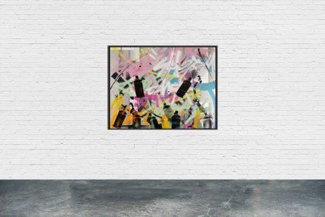 """SCA0120"" - 73 x 60 cm - Serie ""SPRAYCAN ART"""