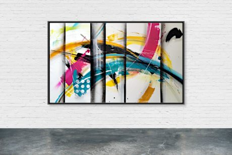 """VA0120"" - 146 x 89 cm - Serie ""VISUAL ABSTRACTION"""