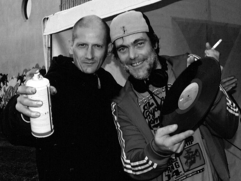 with DJ Dee Nasty